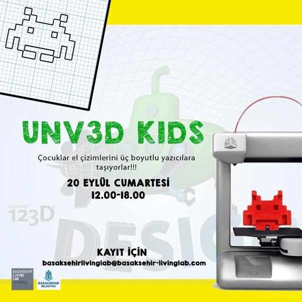 UNV3D KIDS Nedir?