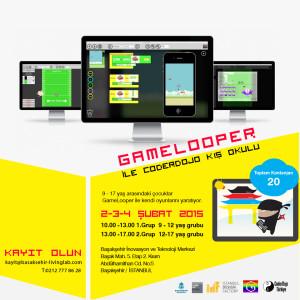 GameLooper ile CoderDojo Kış Okulu