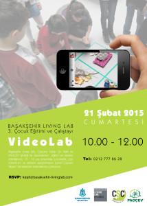 Başakşehir Living Lab 3.Çocuk Eğitimi ve Çalıştayı