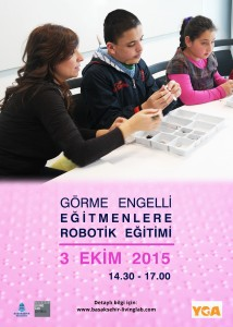Görme Engelli Eğitimlere Robotik Eğitimi