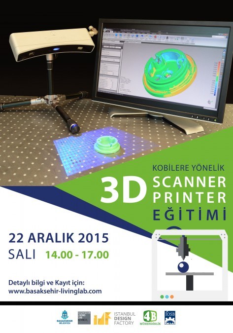 Kobilere Yönelik 3D Scanner&Printer Eğitimi