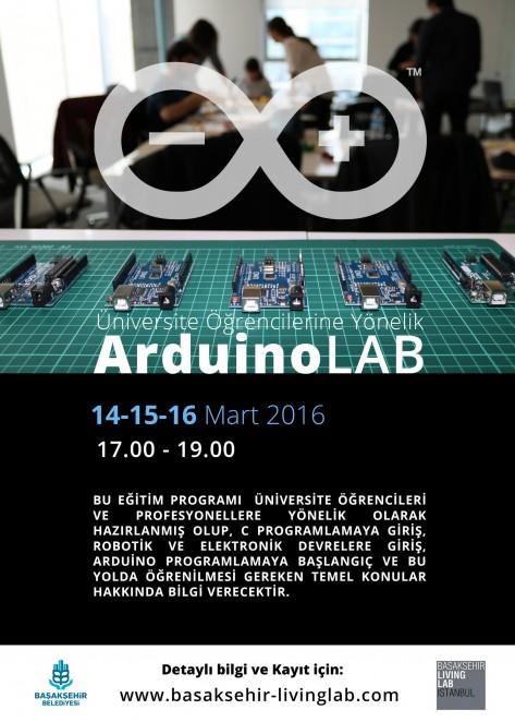 Üniversite Öğrencilere Yönelik ArduinoLAB