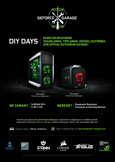 GeForce Garage DIY DAYS