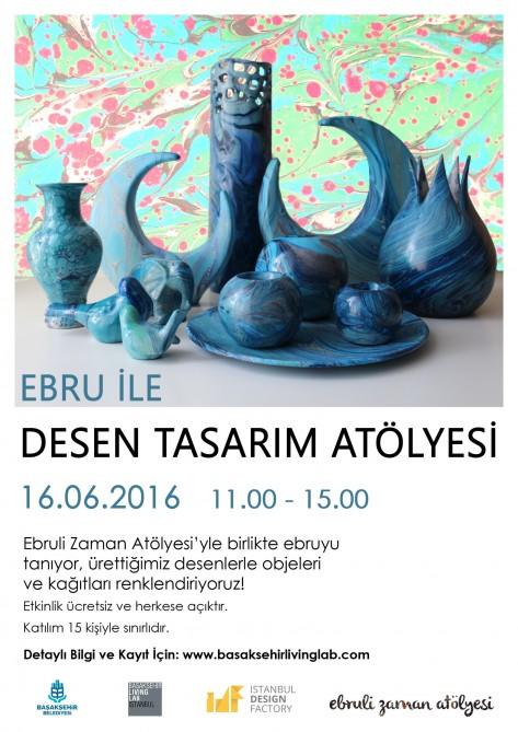 Ebru ile Desen Tasarım Atölyesi