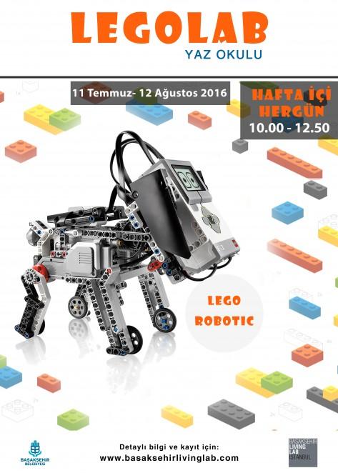 LEGOLAB YAZ OKULU LEGO ROBOTIC