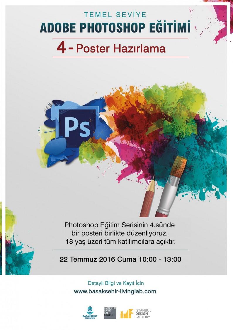 Adobe Photoshop Eğitimi 4-Poster Hazırlama
