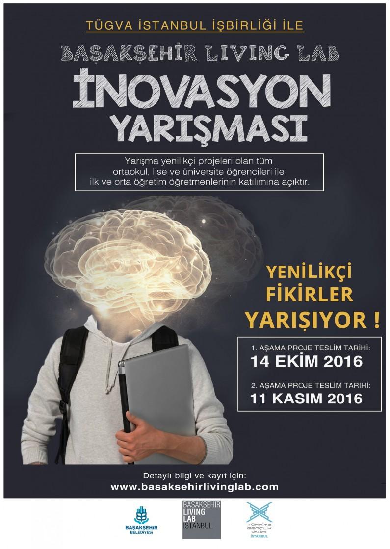 Başakşehir Living Lab İnovasyon Yarışması 2016