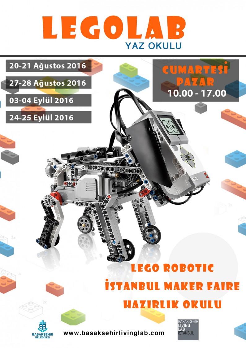 Lego Robotic İstanbul Maker Faire Hazırlık Okulu