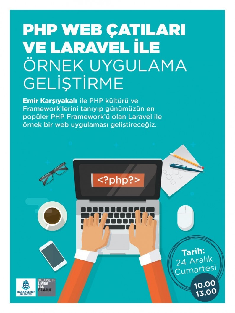 PHP Web Çatıları ve Laravel ile Örnek Uygulama Geliştirme