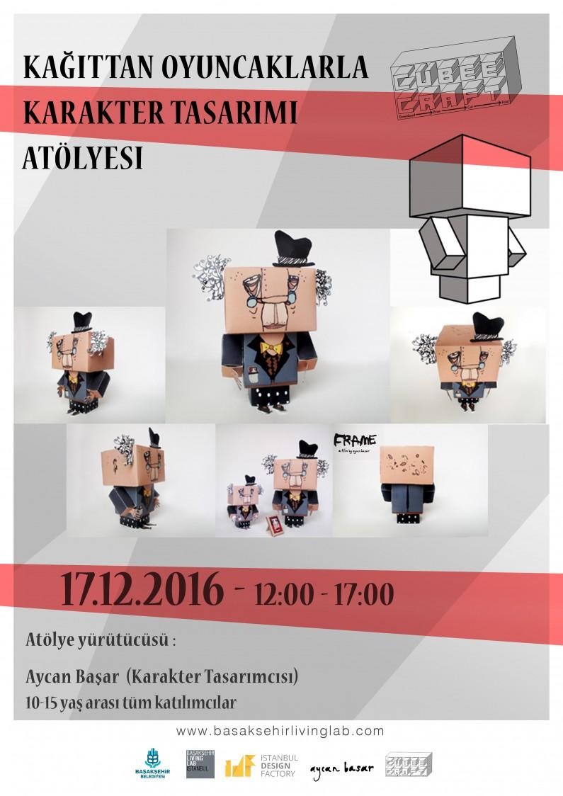 Kağıttan Oyuncaklarla Karakter Tasarımı