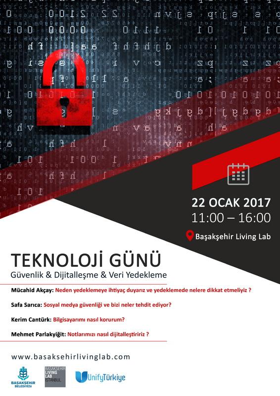 Teknoloji Günü (Güvenlik,Dijitalleşme Ve Veri Yedekleme)