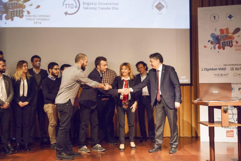 """Girişimcilerimizden """"NoteWork"""" a , İşteBU'dan Netaş Ödülü"""