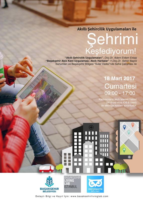 Akıllı Şehircilik Uygulamaları ile Şehrimi Keşfediyorum!