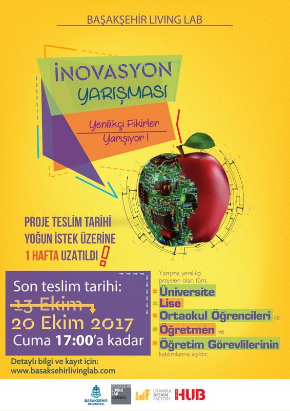 Başakşehir Living Lab İnovasyon Yarışması 2017
