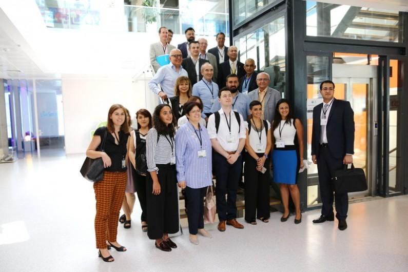 Akdeniz Ülkeleri Başakşehir Living Lab'deydi