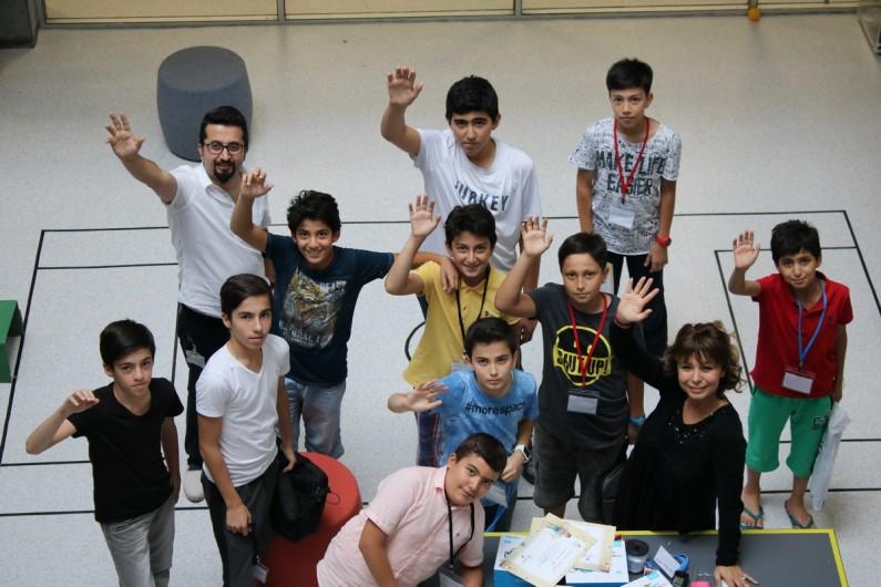 Yarını Kodlayanlar Başakşehir Living Lab ' da