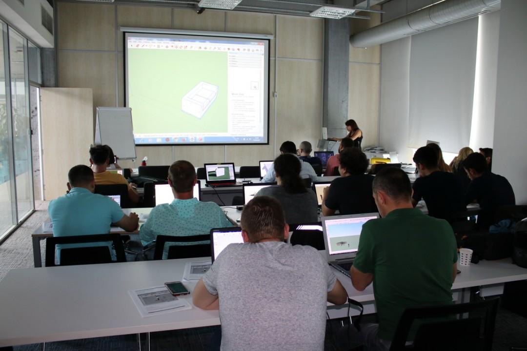 Google Sketchup Programı ile 3D Tasarım ve Modelleme Eğitimi