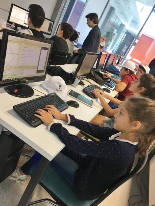 Başakşehirli Çocuklar Geri Dönüşüm Temalı Oyun Tasarladı
