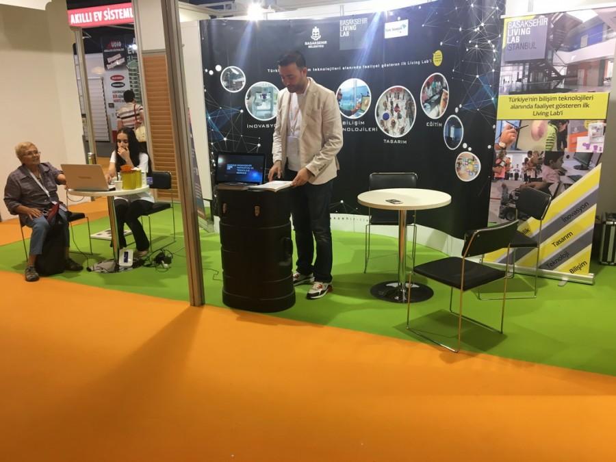 Smart Future Expo Fuarında Yerimizi Aldık