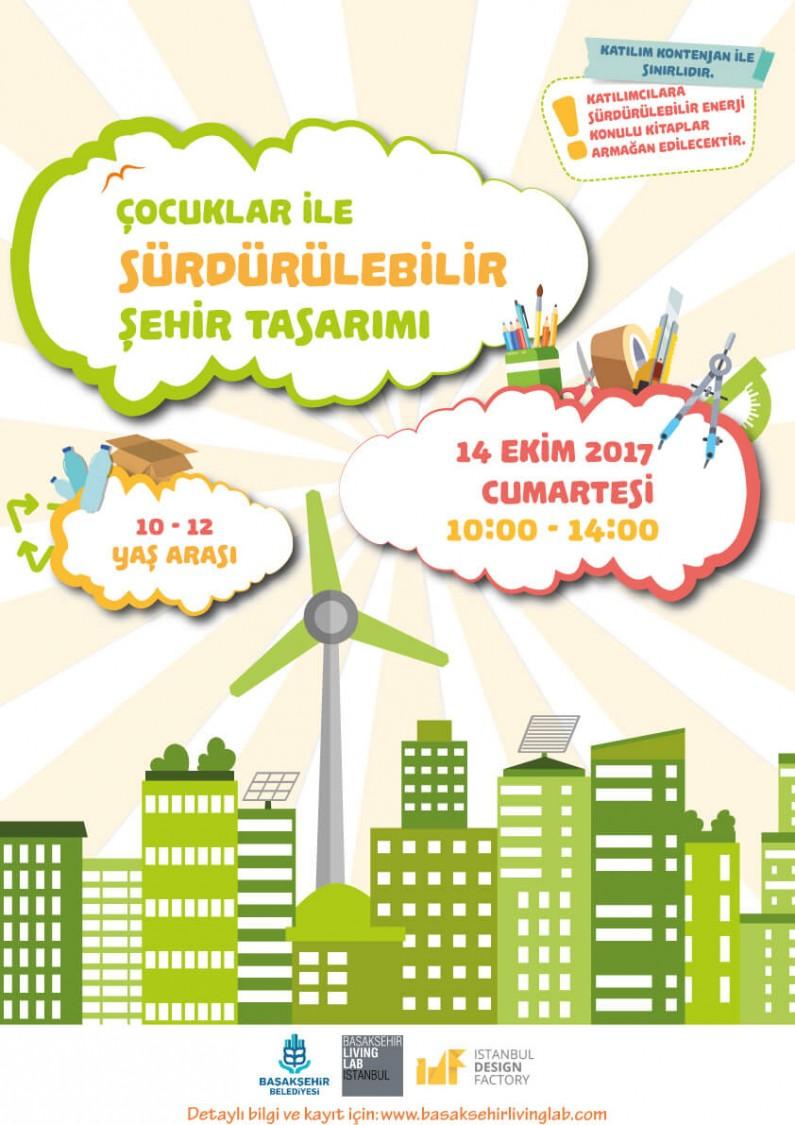 Çocuklar ile Sürdürülebilir Şehir Tasarımı