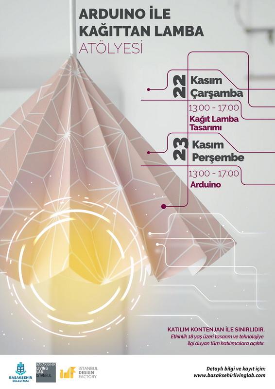 Arduino ile Kağıttan Lamba Yapımı