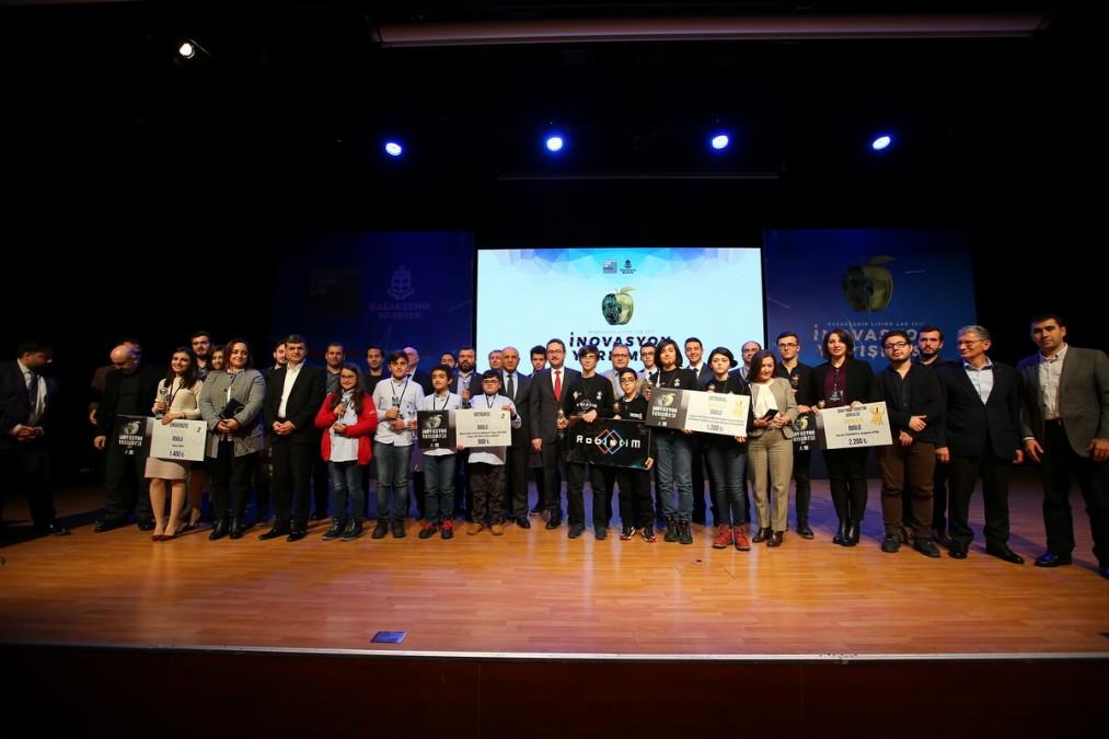 Başakşehir Living Lab İnovasyon Yarışması'nda Ödüller Sahiplerini Buldu