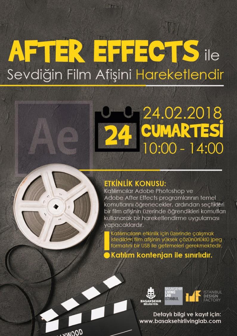After Effects İle Sevdiğin Film Afişini Hareketlendir