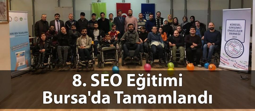 Aramamotoru.com 8. SEO Eğitimi Bursa'da Verdi