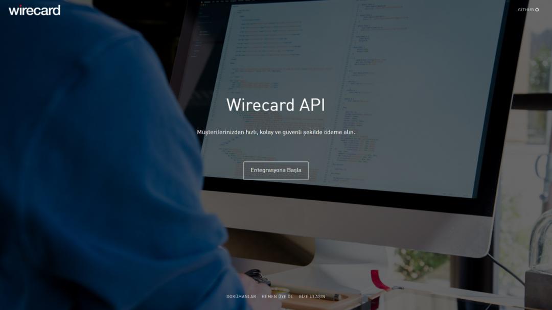 WireCard Geliştirici Portalı Yayında !
