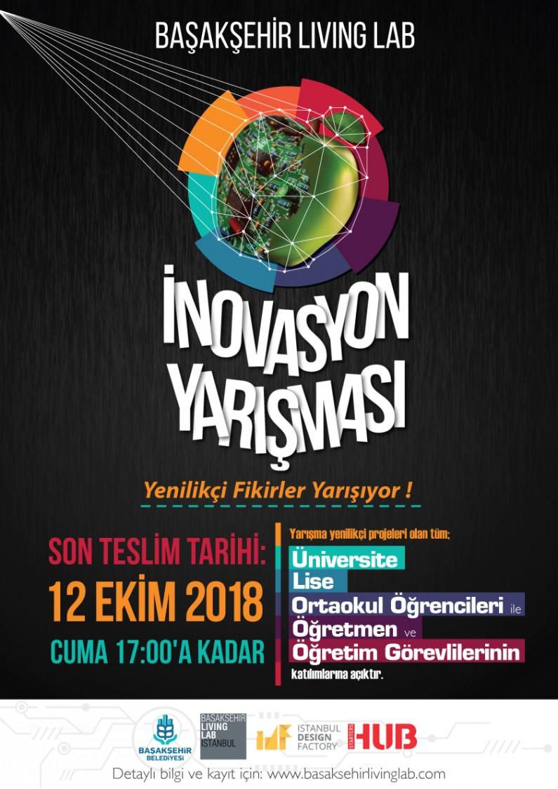 Başakşehir Living Lab İnovasyon Yarışması 2018