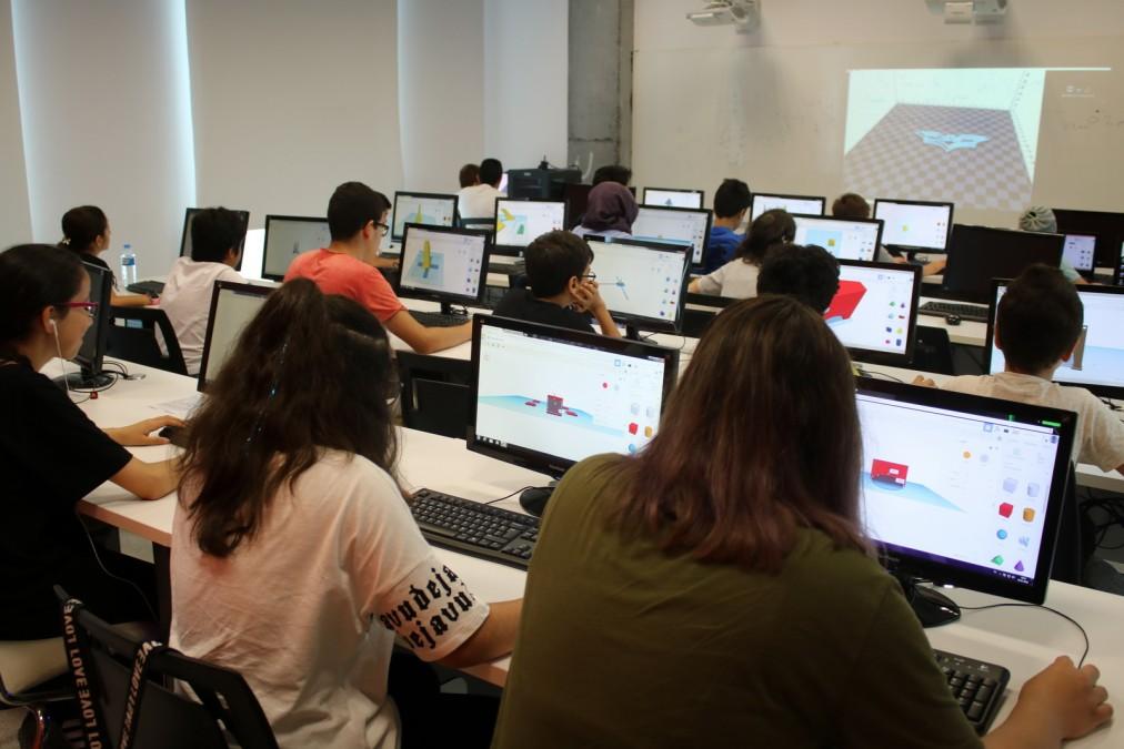 3D Yazıcılarla Kodlama, Baskı ve Çizim Eğitim Programı
