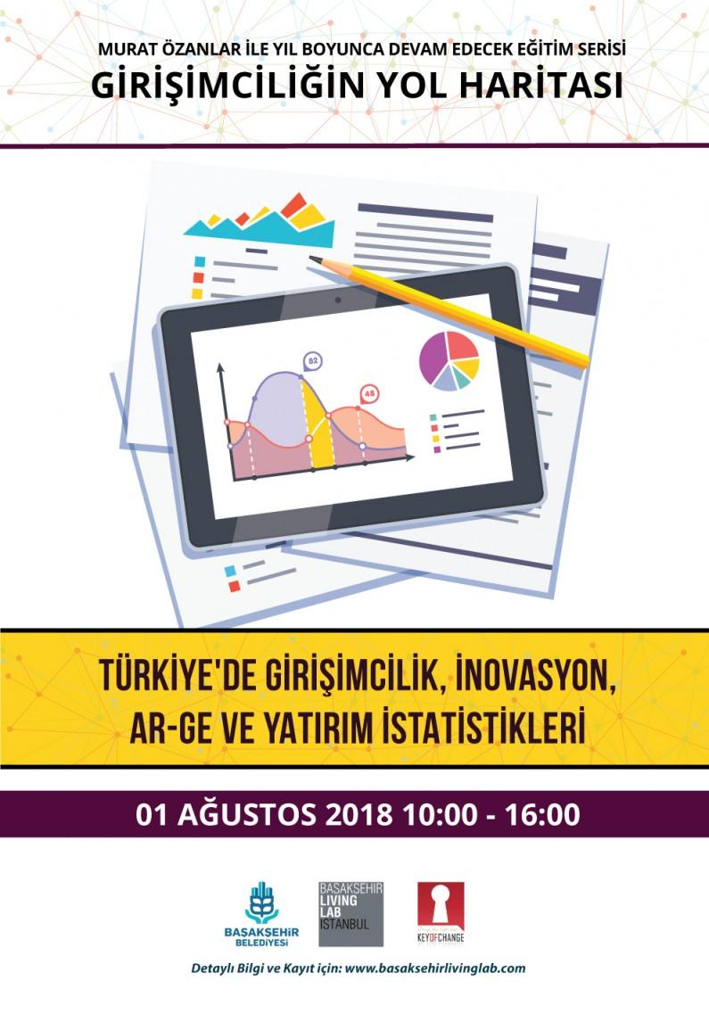 Türkiye'de Girişimcilik, İnovasyon, Ar-ge Yatırım İstatistikleri