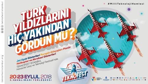 'Teknofest İstanbul' İçin Geri Sayım Başladı