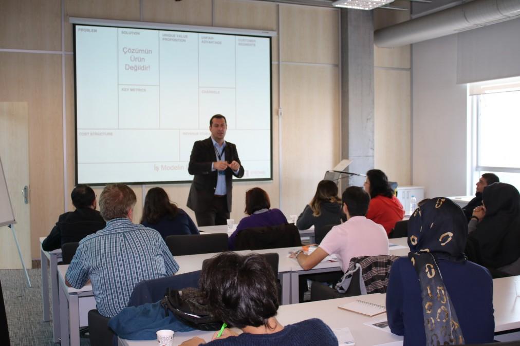 Başakşehir Living Lab'de Lean Kanvas ve Kanvas İş Modeli Eğitimi Gerçekleşti.