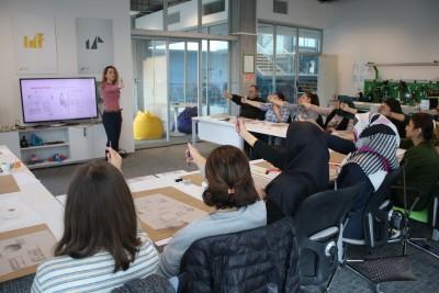 Başakşehir Living Lab'de Karakalem Çalışması