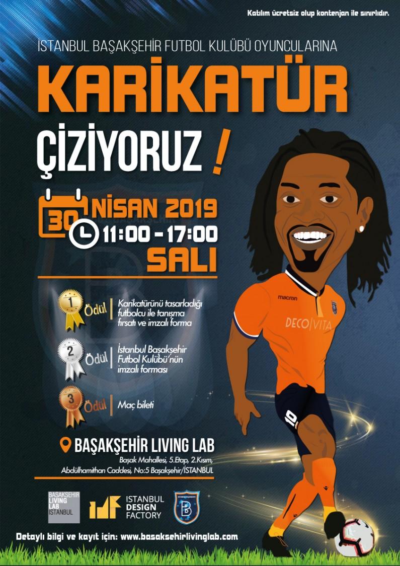 İstanbul Başakşehir Futbol Kulübü Oyuncularına Karikatür Çiziyoruz!