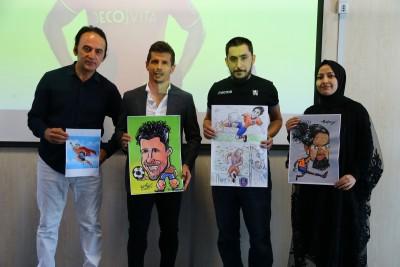 Başakşehir Living Lab'de Sanatla Futbol Buluşturuldu !