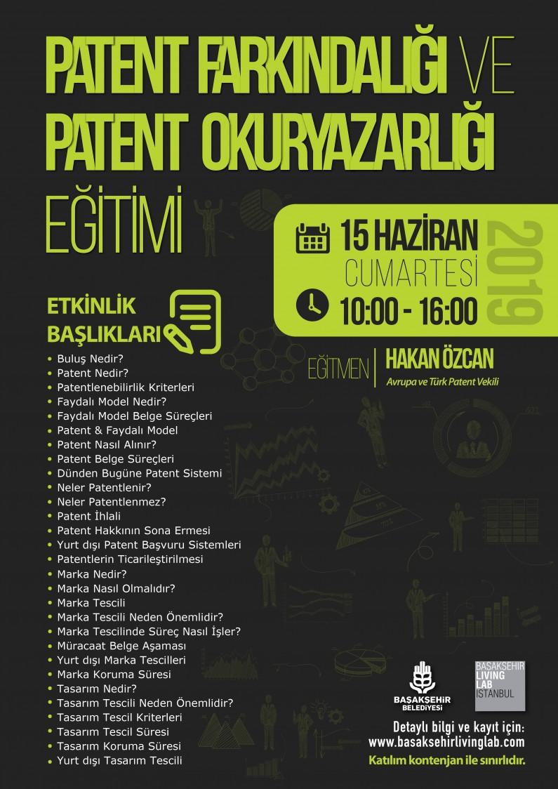 Patent Farkındalığı ve Patent Okuryazarlığı Eğitimi
