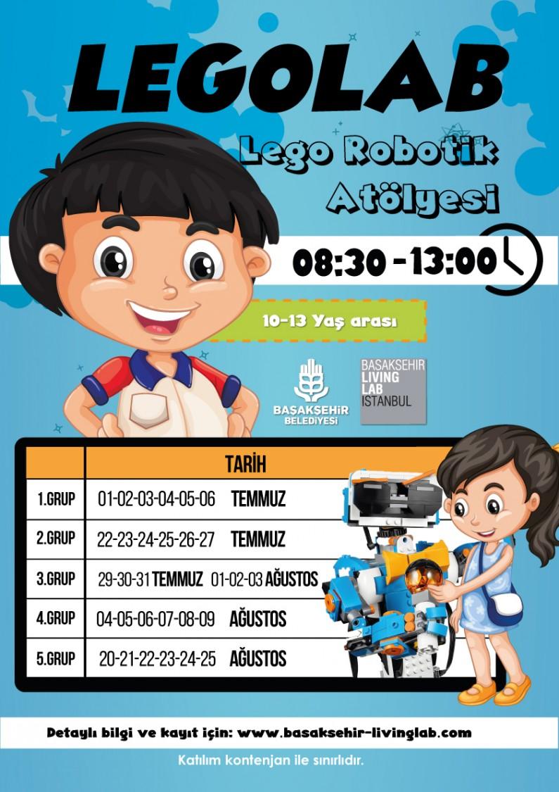 LEGOLAB – Lego Robotik Atölyesi