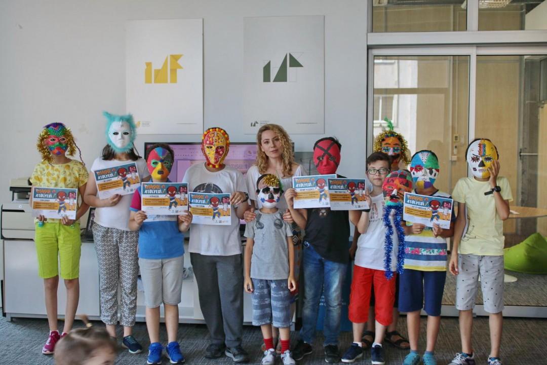 Başakşehirli Çocuklardan Birbirinden Renkli Maskeler
