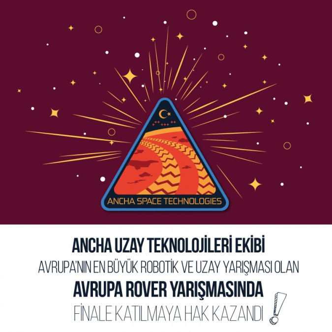 Ancha Uzay Teknolojileri Ekibi Finalde!