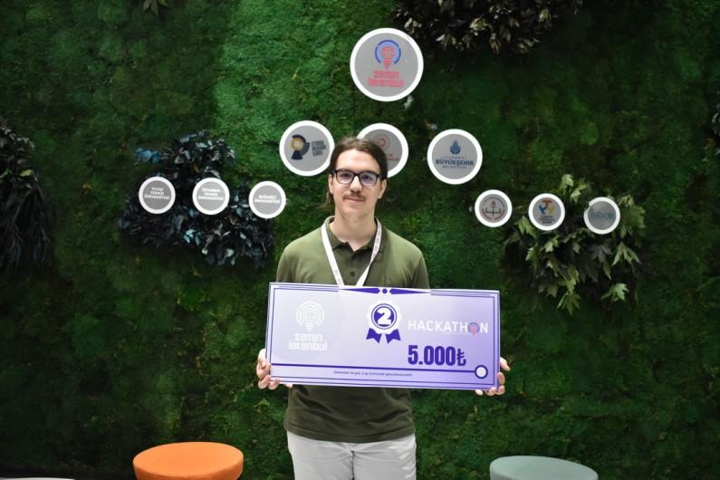Başakşehir Living Lab's entrepreneur was awarded by Zemin Istanbul!
