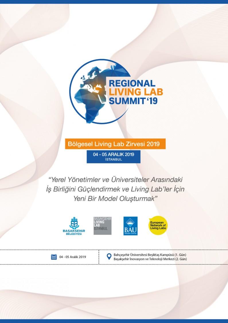2. BÖLGESEL LIVING LAB'LER ZİRVESİ, 4-5 ARALIK 2019