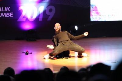 İnovasyon Yarışması'na Drone İle Dans Damga Vurdu
