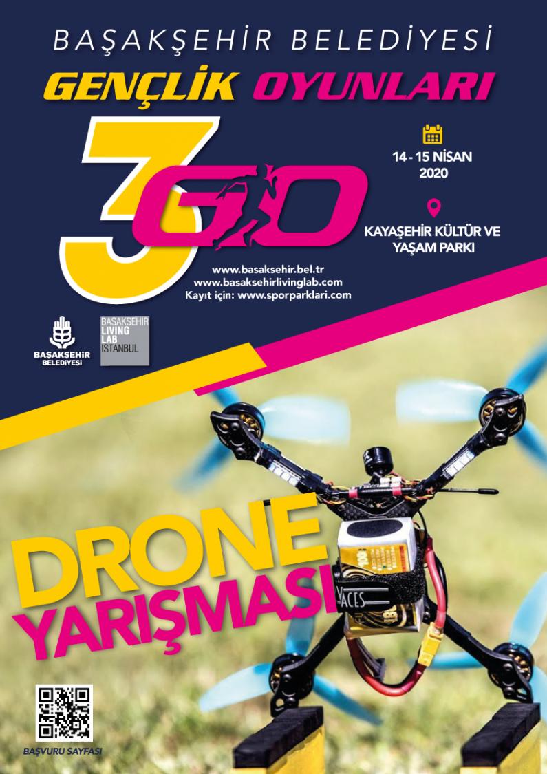 Gençlik Oyunları – Drone Yarışması