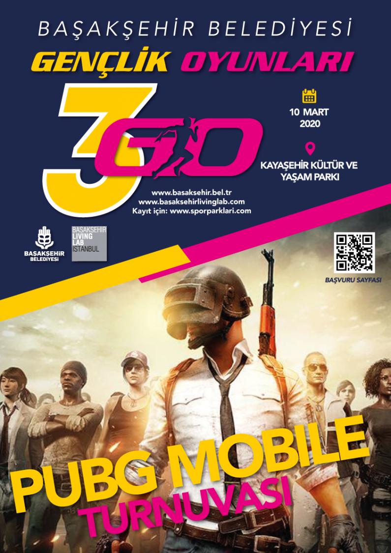 Gençlik Oyunları – Pubg Mobile Turnuvası