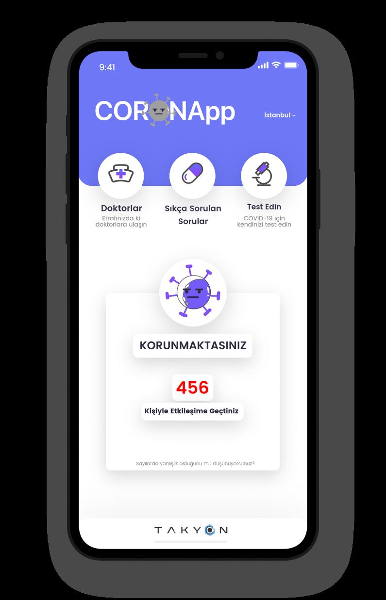 Başakşehir Living Lab girişimcileri COVID-19'u takip edilebilir yapacak bir uygulama geliştirdi ve ödül aldı!