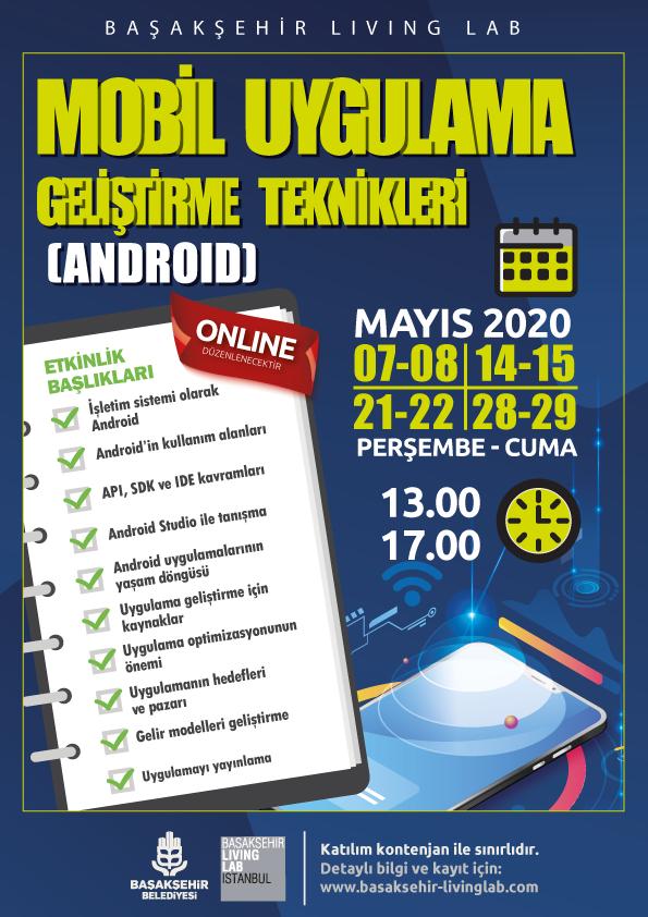 Mobil Uygulama Geliştirme Tekniklerine Giriş (Android) – Online