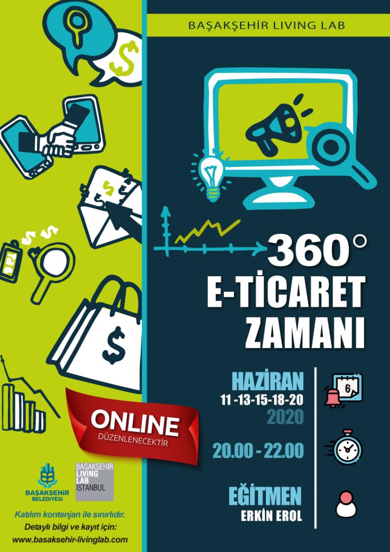 360 Derece E-Ticaret Zamanı