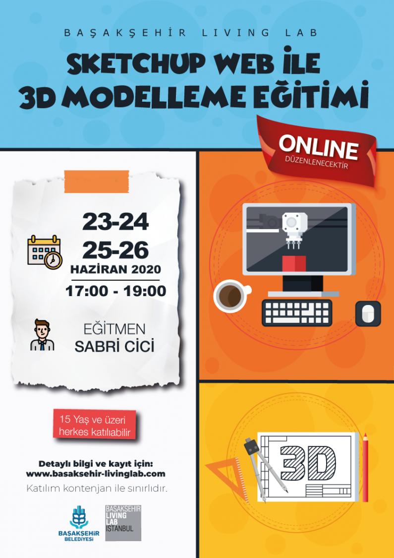 SketchUp Web İle 3D Modelleme Eğitimi